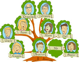 how to show links between two people on ancestry tree
